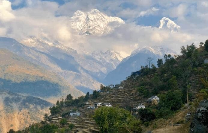 Village In Annapurna Region