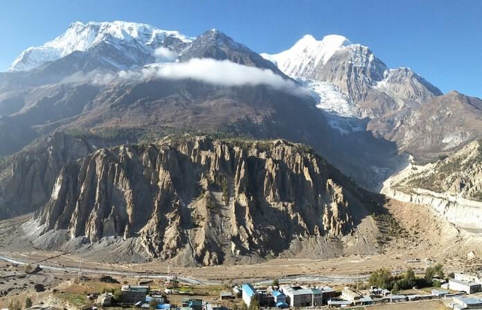 Annapurna circuit Trek-Manang