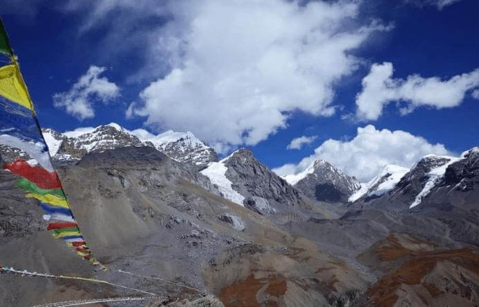 Cloudy View-Annapurna Circuit