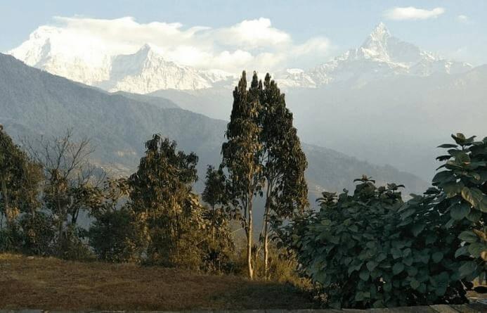 Annapurna Mountain Range View