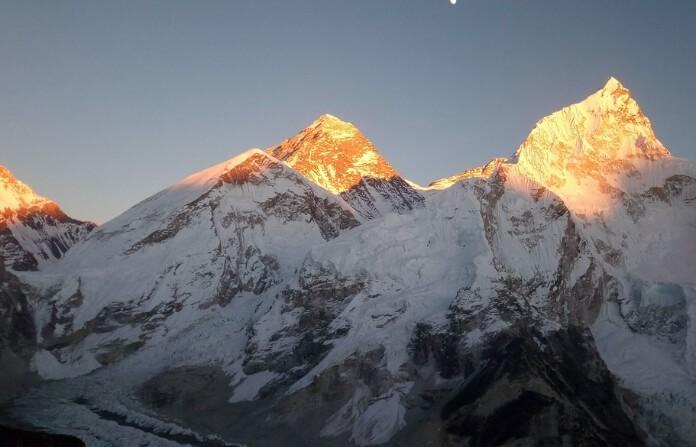 Everest Base camp In October