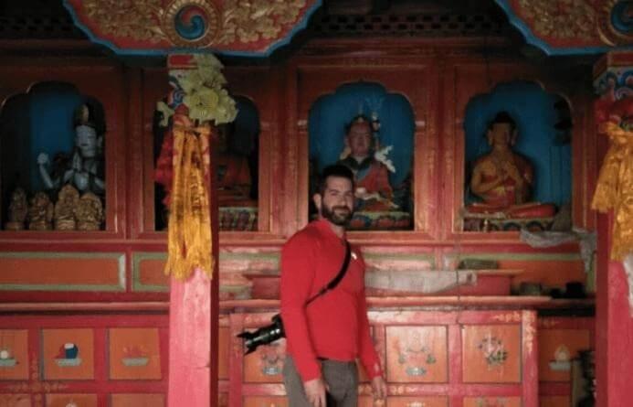 Monastry at manaslu