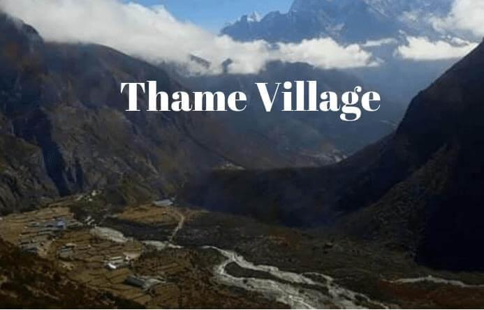 Thame Village