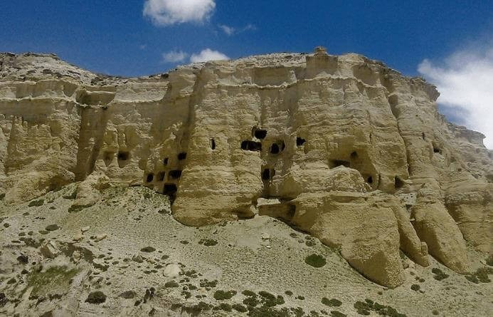 diverse land structure-upper Mustang