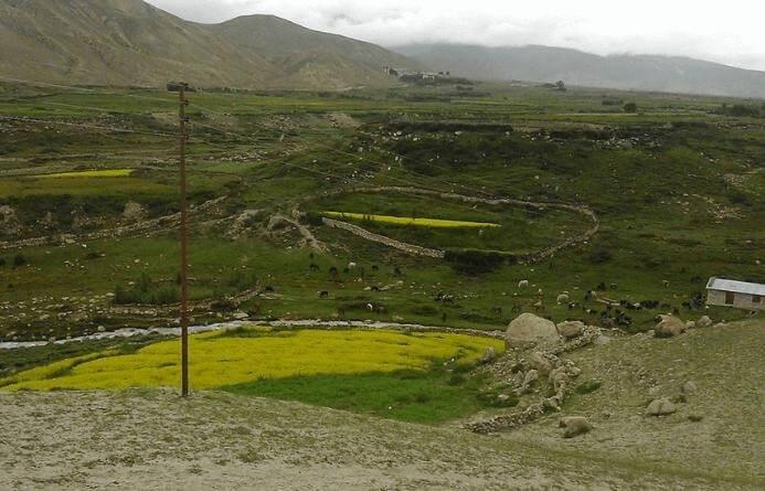 Remote area upper mustang region