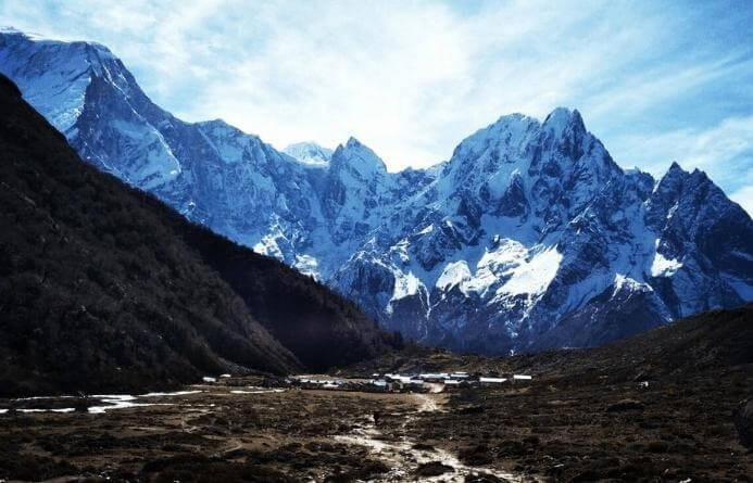 View of Manaslu Region