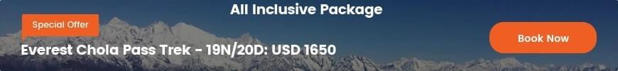 Special Offer- Everest Chola Pass Trek