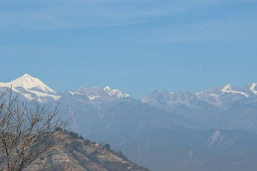 View from Dhulikhel