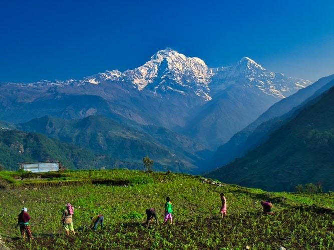 Annapurna Mountain Ranges