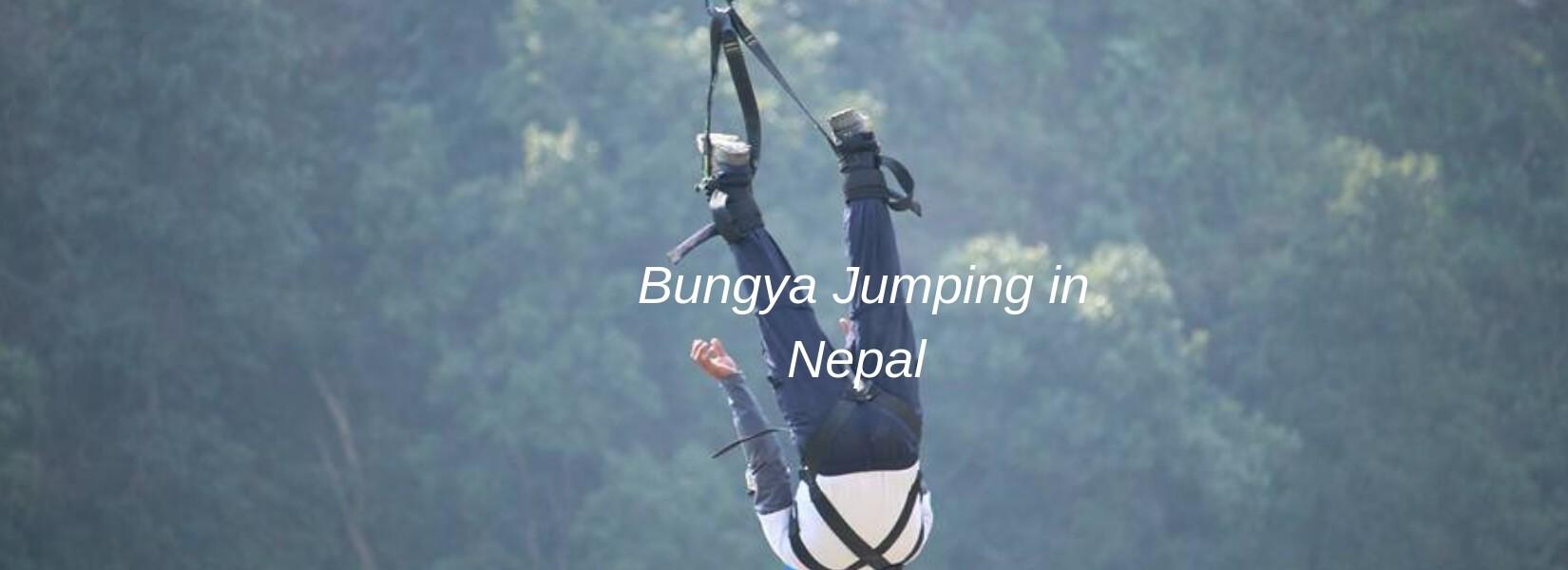 Bunjee Jumping in Nepal