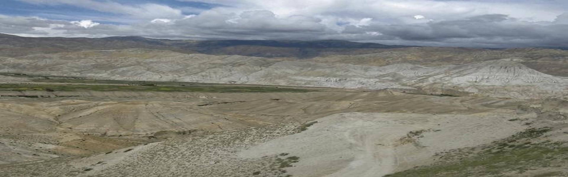 Beautiful mountain views in Upper Mustang Trek